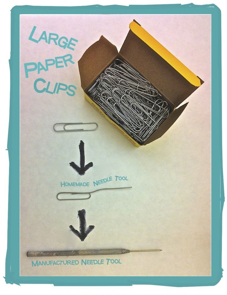 DIY clay tools - very clever tools for a low budget class. #polymer #clay #tools