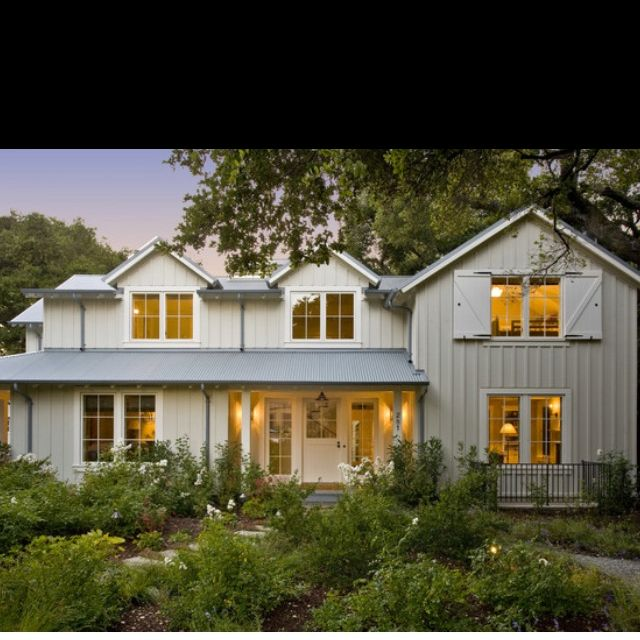 Farmhouse-this is actually around the corner from my house!
