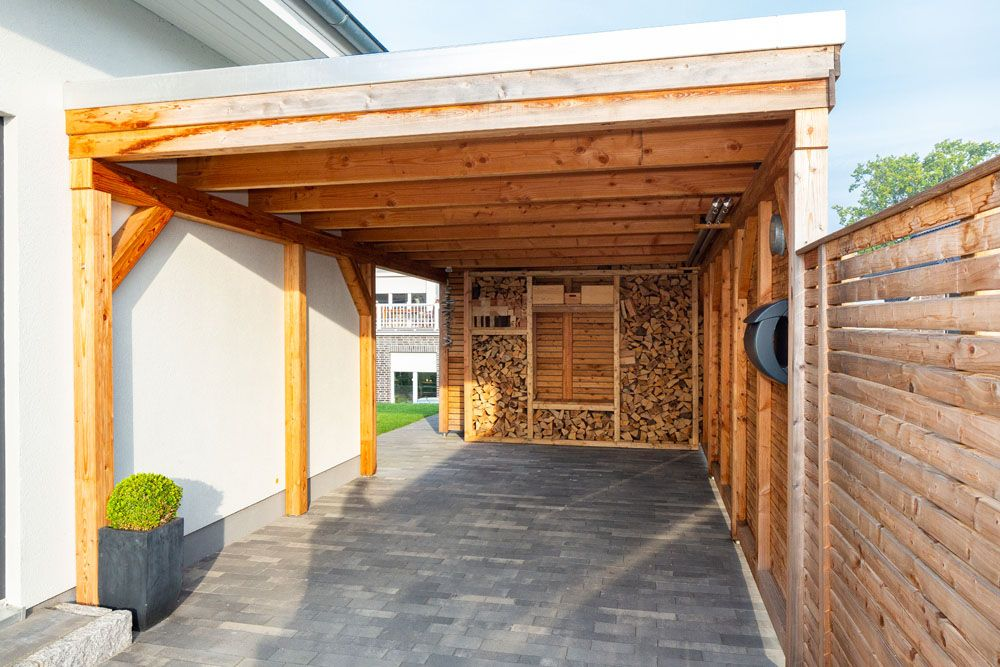 Carport, Vordach, Terrasse oder Gartenhaus - Contract-Vario in 2018 ...