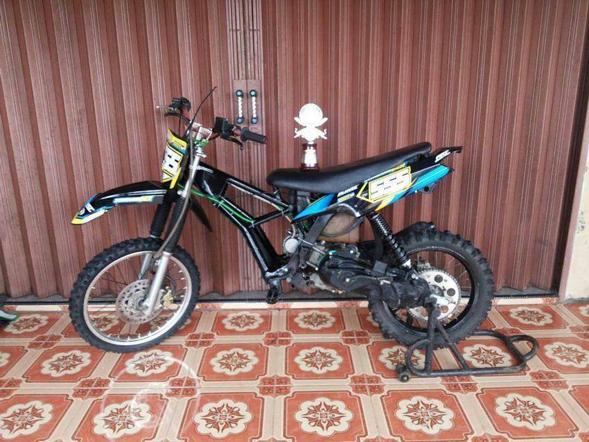 Bikin Motor Trail Dari Yamaha Mio Matic Indra