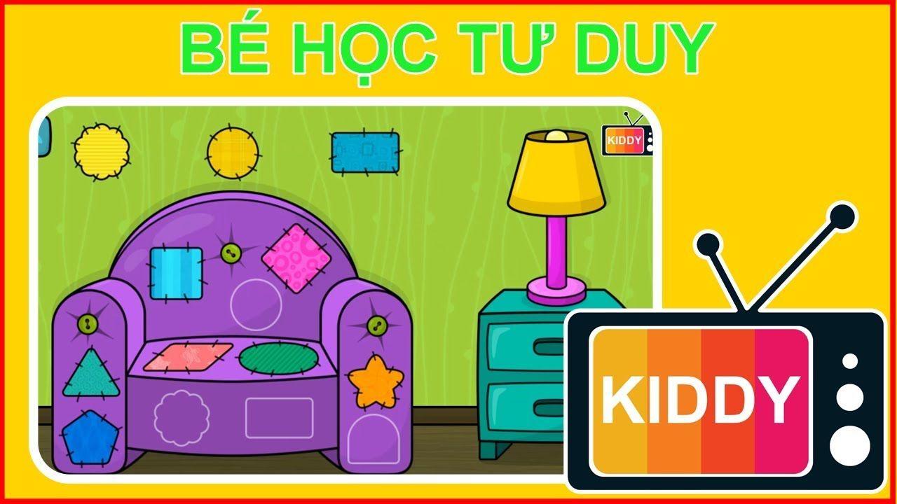 Tìm Mảnh Ghép Đúng 💖 Bé Học Tư Duy Qua Hình Ảnh 👨👧 Game Giáo Dục Cho Trẻ  Em [Kiddy TV]