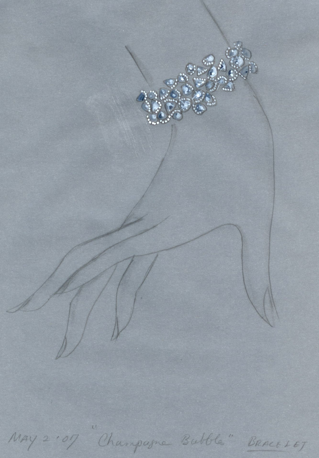 Art illustration design bracelet bracelets pinterest diseño