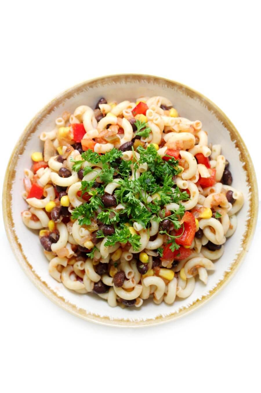 Easy GlutenFree Mexican Pasta Salad (Vegan, AllergyFree