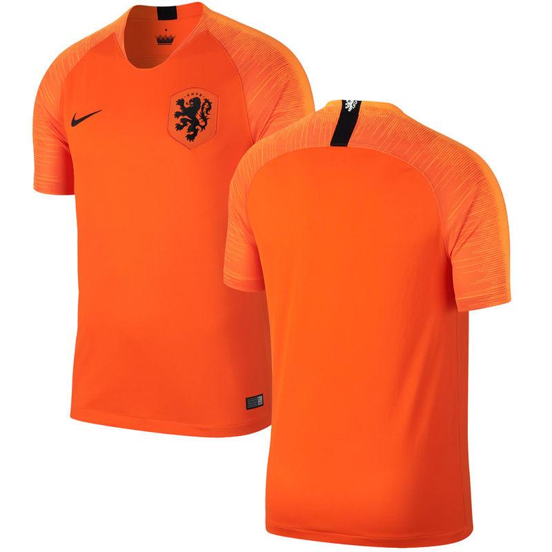 size 40 1966a c70bb Netherlands National Team Nike 2018 Home Replica Stadium ...