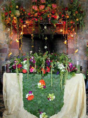 Enchanted Garden Wedding Theme An Enchanted Garden for Two