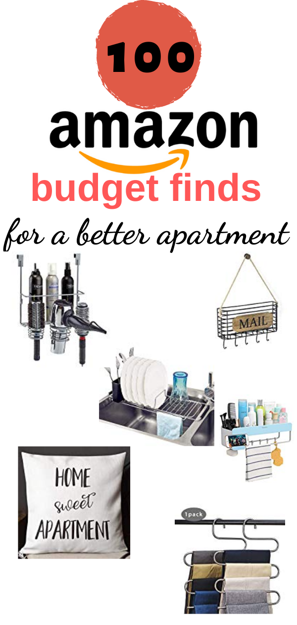 Check out this amazing list of must have items on amazon! All budget friendly cheap storage solutions for your apartment. The best amazon finds and decor for a better and more organized home. #amazon #amazonfinds #musthaves #amazonorganization #apartment #apartmentorganization