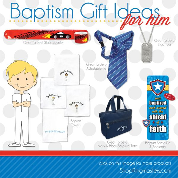 Great LDS Baptism Gift ideas, perfect for any budget! | Bautizo ...