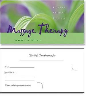 Massage gift certificates sweetwater massage therapy pinterest massage gift certificates yadclub Choice Image