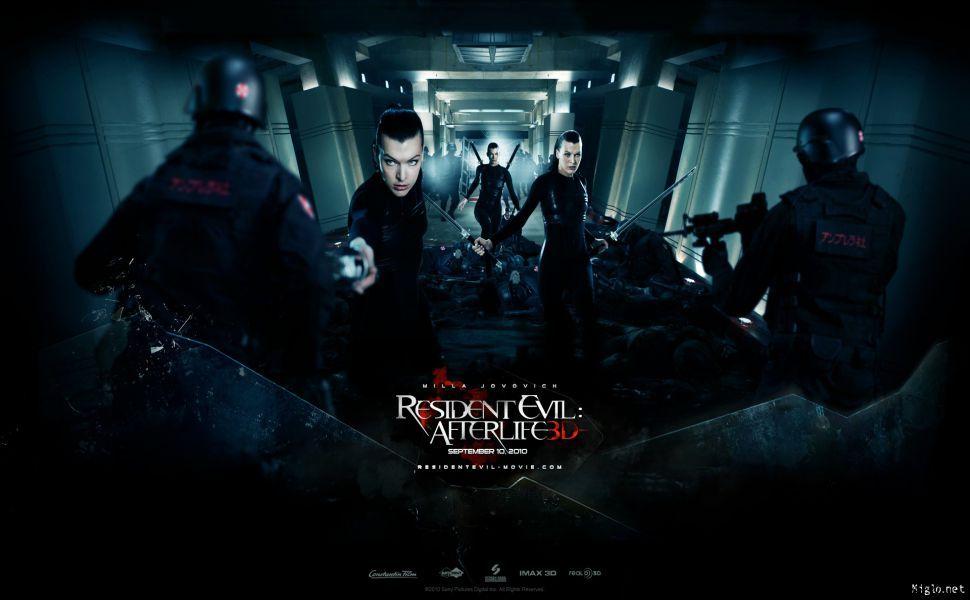Resident Evil Afterlife HD Wallpaper