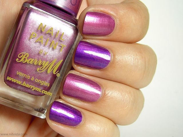 Barry M Chameleon Nail Effect - Pink by nihrida, via Flickr