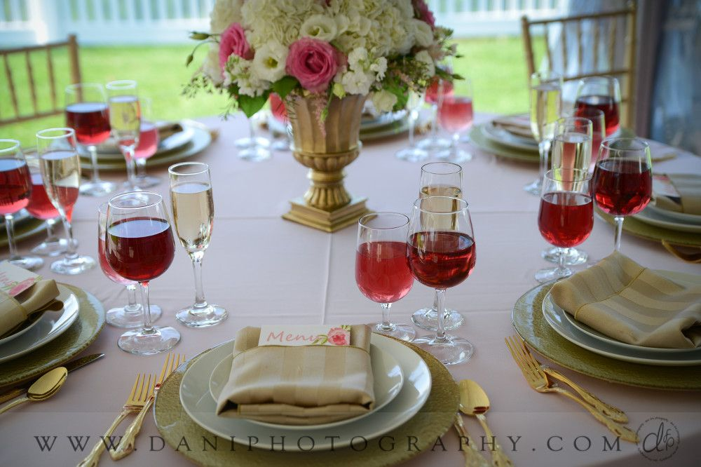 Check out the photos from Upper Vista. Photography: Dani Fine Photography Floral Arrangement: Durocher Florist Flat ware & chairs: Michael's Party Rentals