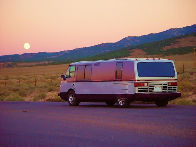 Vixen-RV-sunset