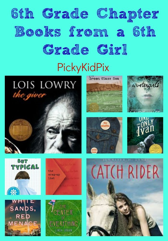 6th Grade Chapter Books From A 6th Grade Girl New Teachers