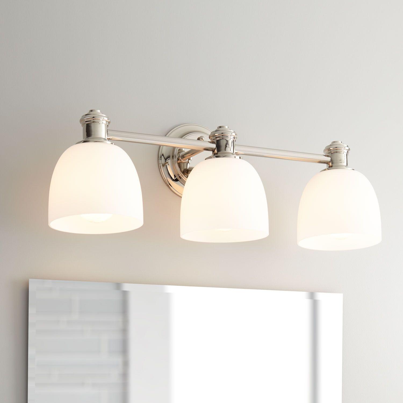 Peebles Vanity Light Three Lights Bathroom Light Fixtures Vanity Lighting Light Fixtures