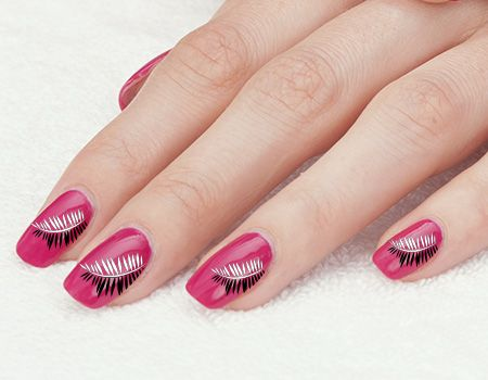 15 Easy Nail Art Designs To Do With A Toothpick And Tutorial Nicole Creative Feather Nail Art Pink Nails Nails