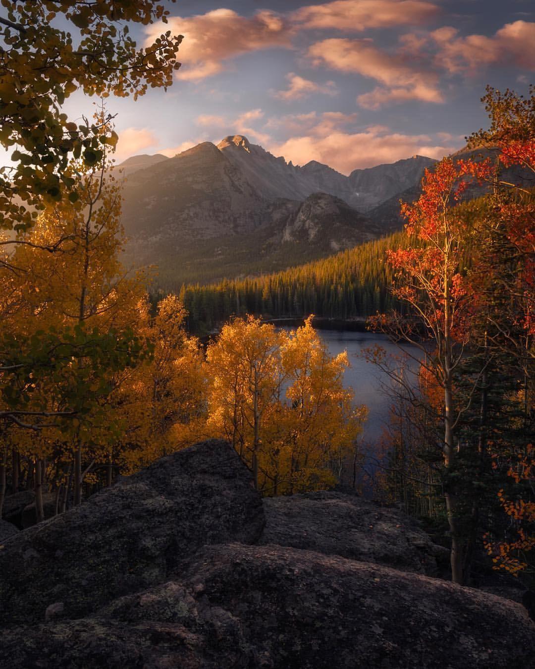 landscapes of colorado mountains