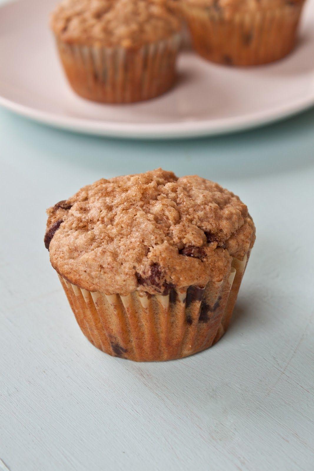 Whole Wheat Oatmeal Chocolate Chip Muffins   Yogurt, Feelings and Cas
