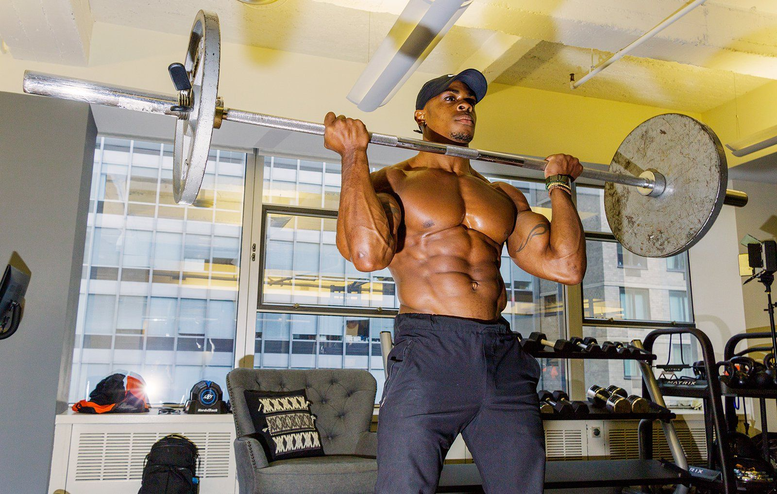 Get herculean muscles with these three intense moves
