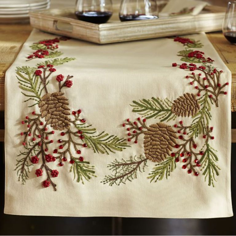 Kit CHRISTMAS TRADITIONS Table Runner /& Placemats