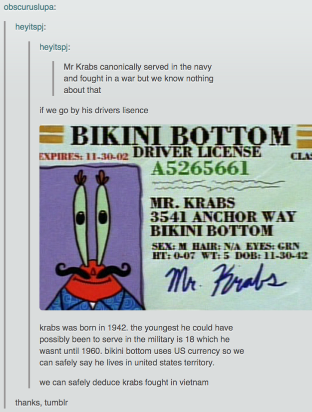 Eugene krabs wife sexual dysfunction