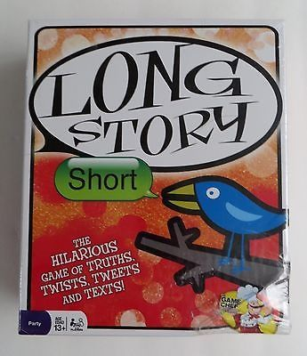 cool Long Story Short Party Family Game Of Truths TwistsTweetsText NEW - For Sale