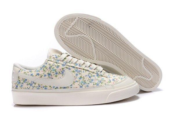 Nike Blazers faible prime de nouvelle de femmes de modele de lorchidee  blanche Chaussures.jpg