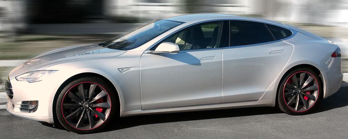 #WheelBands #RimProtec #Tesla #TeslaS #WheelBand