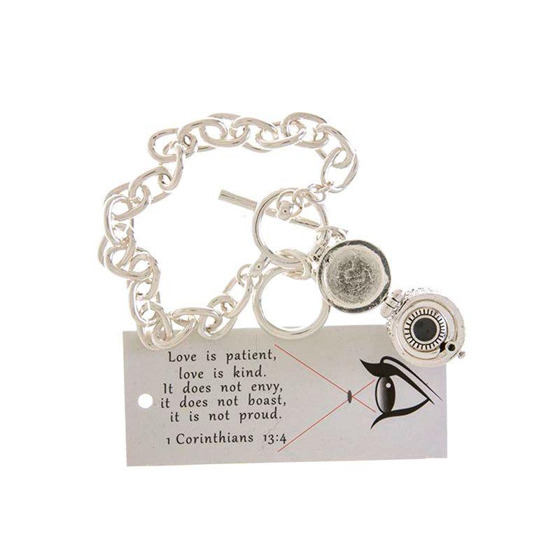 Memorable Container Charm Bracelet