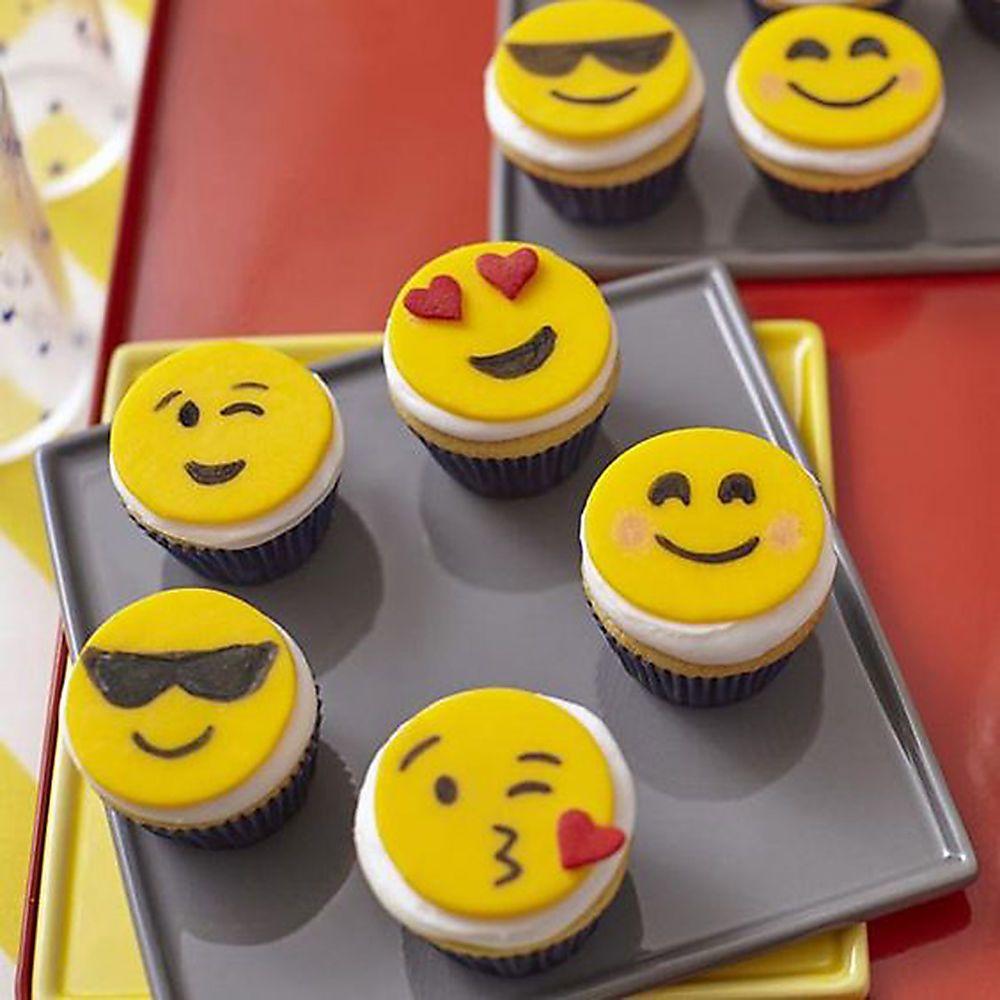 Emoji Cupcakes Cupcake Decorating Ideas Recipe Emoji Cake Savoury Cake Emoji Cupcakes