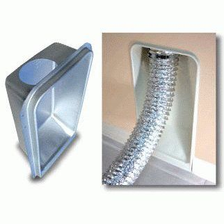 American Aldes Dryer Vent Box For 2x4 Walls Up Flow American Aldes With Images Dryer Vent Box