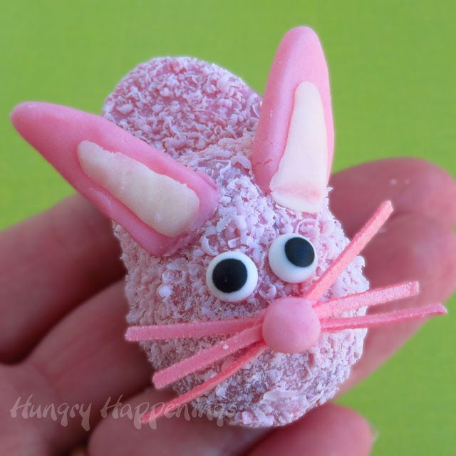 Hungry Happenings: Turn Pink Fuzzy Slipper Cookies into Bunny Slipper Cookies for Easter