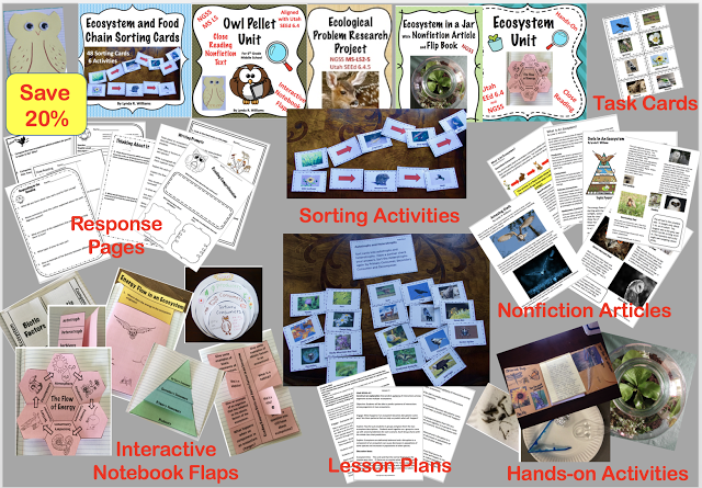 i have been noticing that there are a bunch of standards for a variety of grade levels that have to do with ecosystems food chains environ