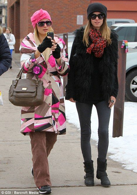 b93decd3f5 Nicky and Paris Hilton - here s what to wear in Aspen!  2013  2014  winter   style  ski