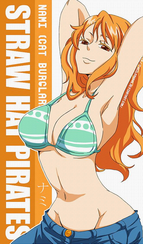 Nami One Piece Straw Hat Pirates Op Nami Pinterest One Piece