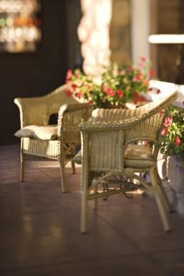 Muebles de mimbre en pinterest pintura de muebles de - Muebles de mimbre en madrid ...