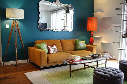 Blue and Orange? | Neue häuser, Wohnzimmer und Neuer