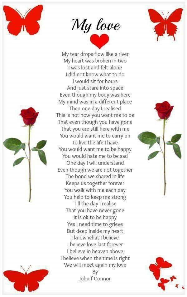 My Love | Poem | Prayers for my sister, I love my dad, Miss you