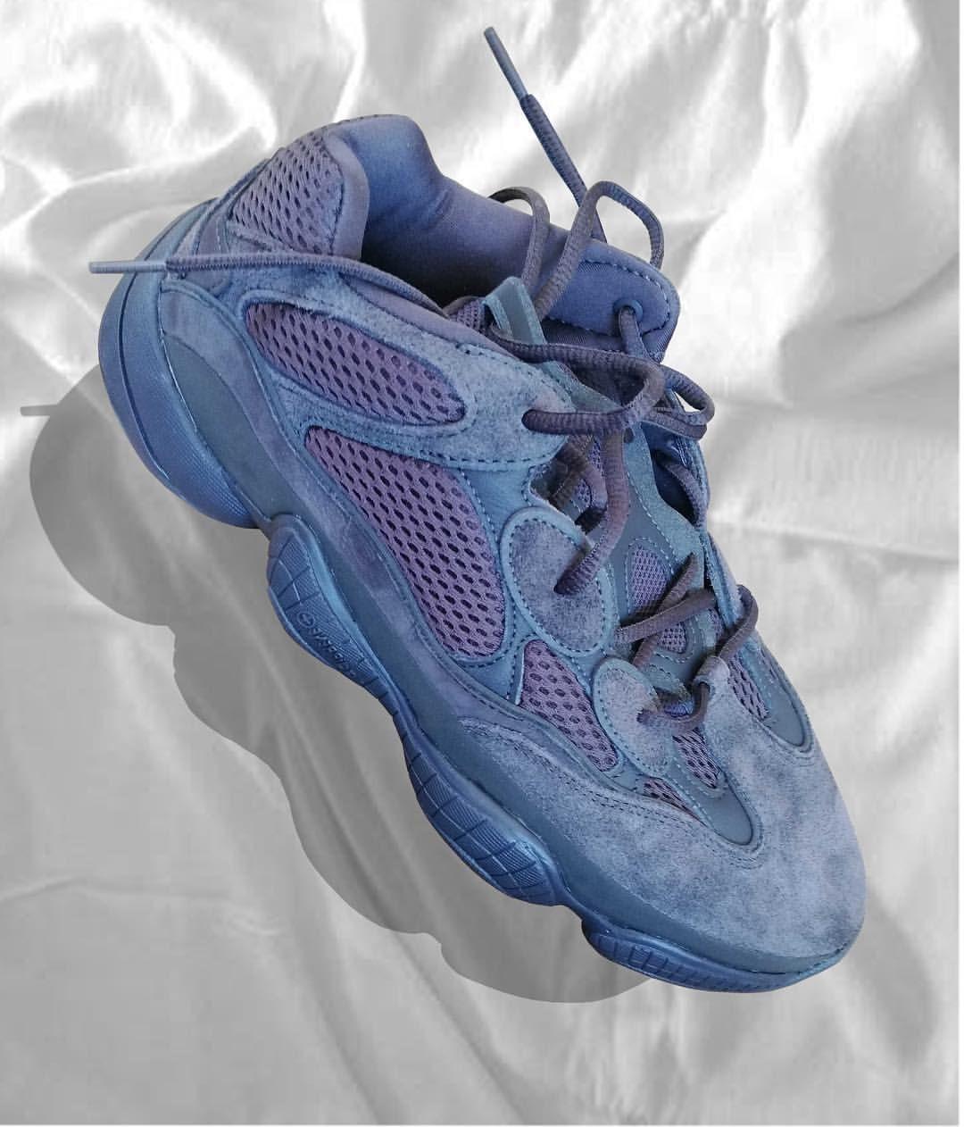 finest selection 15a85 10fee Yeezy 500 blueberry | Sneaker Freaker | Sneakers nike ...