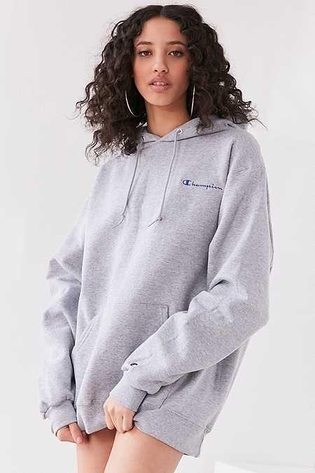 f3775f941d4 Champion + UO Powerblend Mini Logo Hoodie Sweatshirt