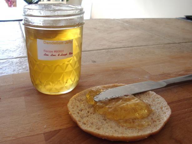 Dandelion Jelly Recipe Jelly Recipes Recipes Dandelion Jelly