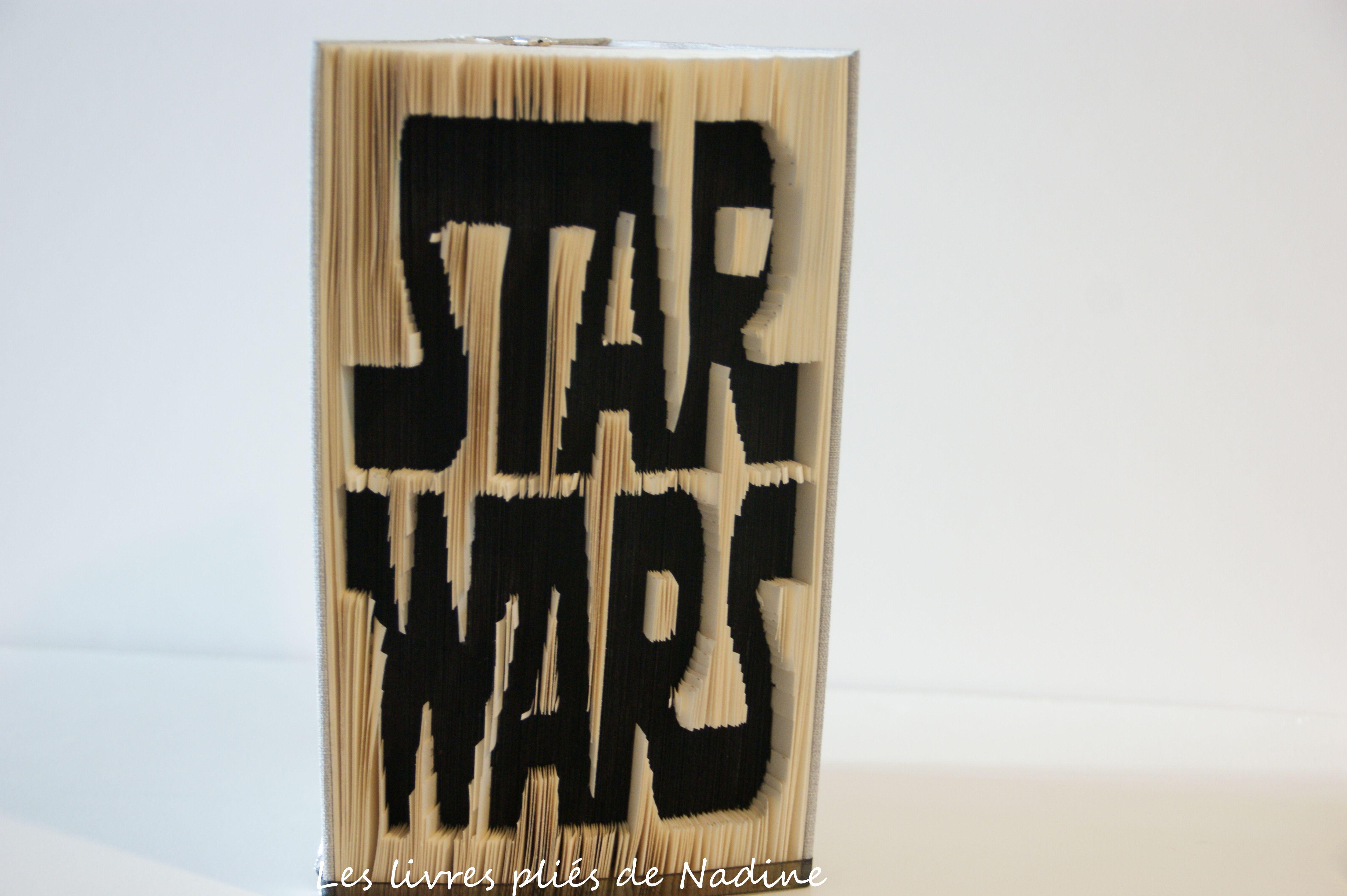 Decoup Pliage Star Wars Travail En Negatif Incruste Dans