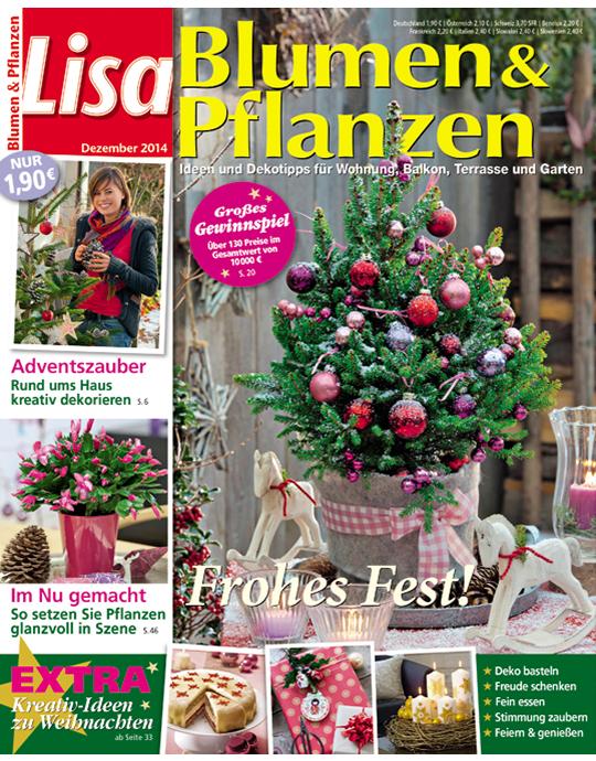 lisa blumen pflanzen aktuelle ausgabe 12 2014