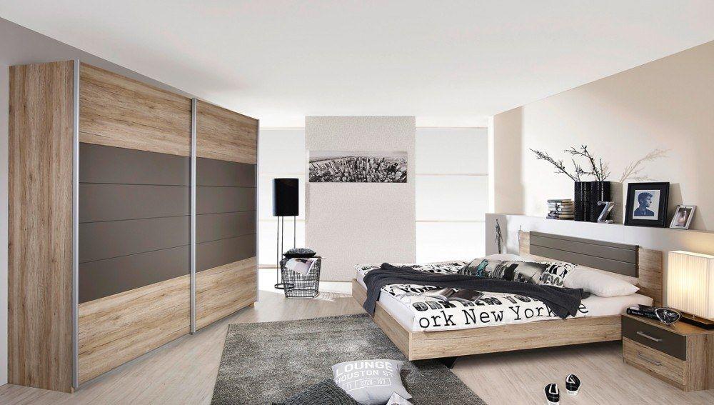 Schlafzimmer komplett Barcelona Schlafzimmermöbel Sanremo Lava 8253