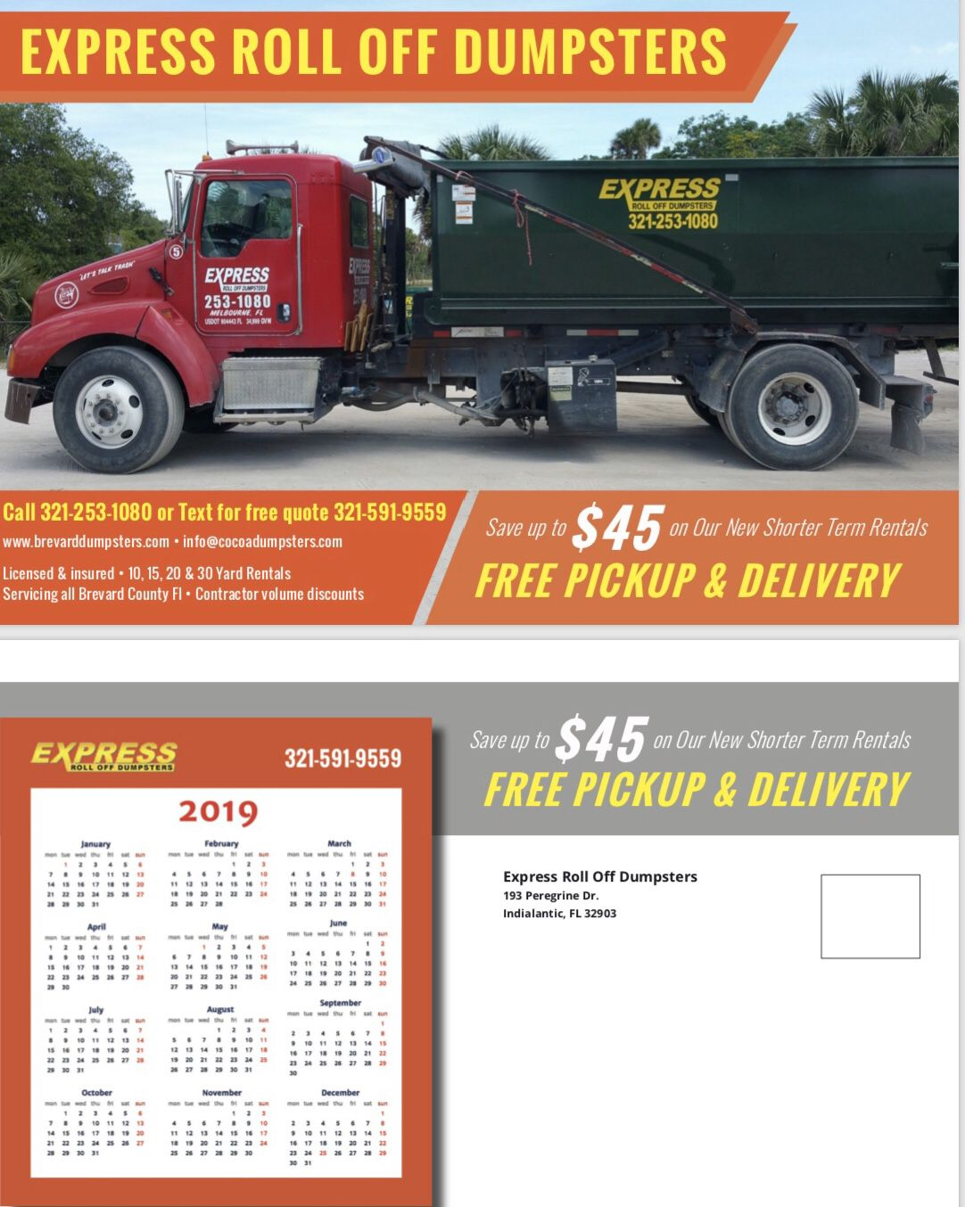 Construction Dumpsters For Rent Express Roll Off Palm Bay Florida Dumpster Rental Roll Off Dumpster Dumpsters