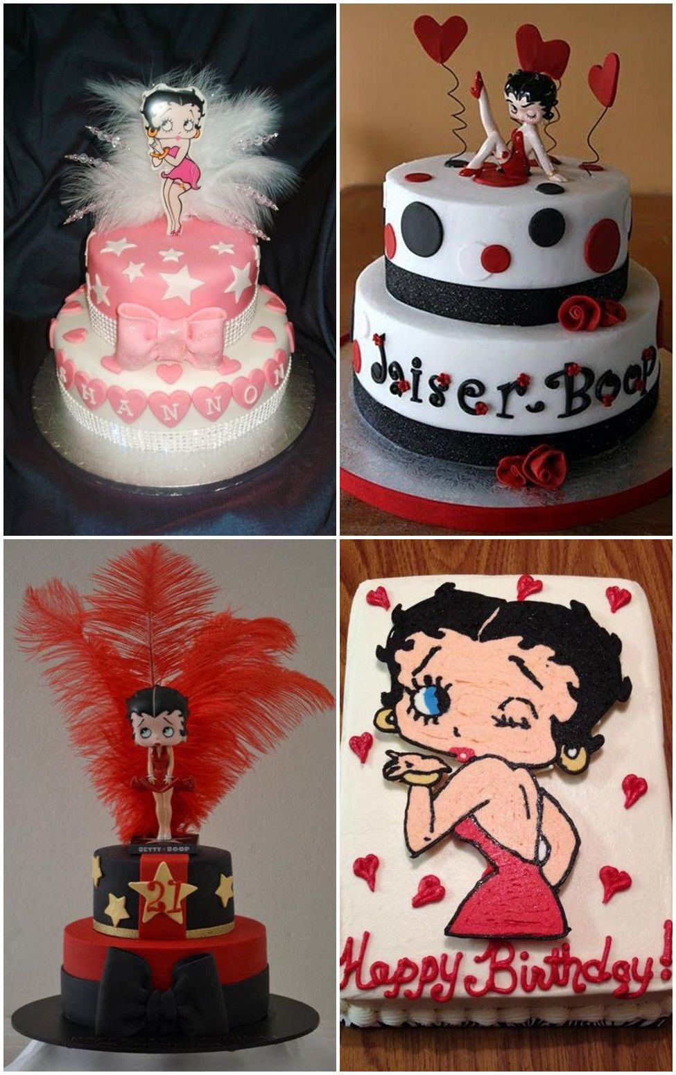 Betty Boop Cakes Ideas | Fiesta de minnie mouse | Pinterest ...