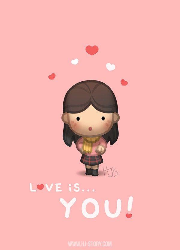 Love Is You Cute Love Cartoons Cartoons Love Cute Love Stories