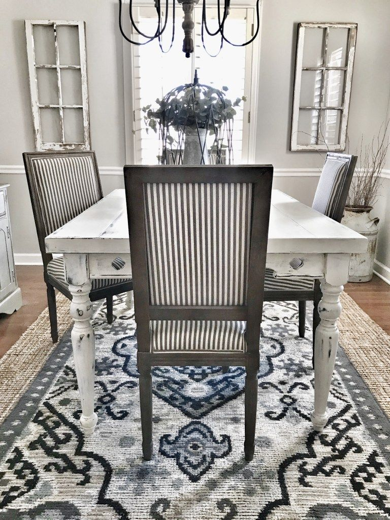 Farmhouse style dining room refresh bless this nest
