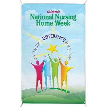 Vinyl Event Banner: We Make A Difference Every Day Item ...