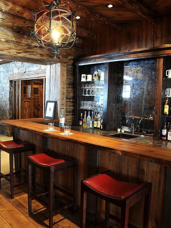 Pin by Doug Shinn on Man Cave Home bar designs, Basement
