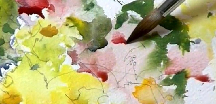 Painting Flowers in Watercolor, Part 1